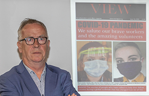 Mayor praises work of Strabane charity as he launches 'Community Heroes' issue of VIEW magazine