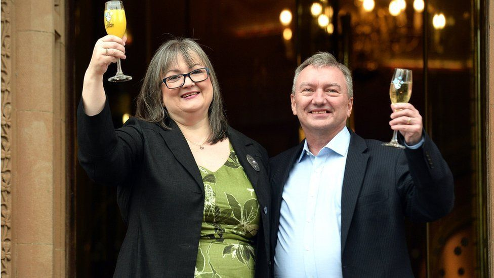 EuroMillions NI couple have given away 'half' of winnings